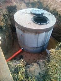 Обустройство скважины на воду с использованием ЖБ колец