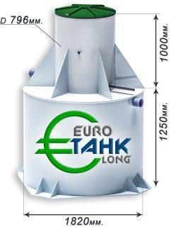 Септик Евротанк 10 Long